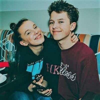 Jacob with His Girlfriend