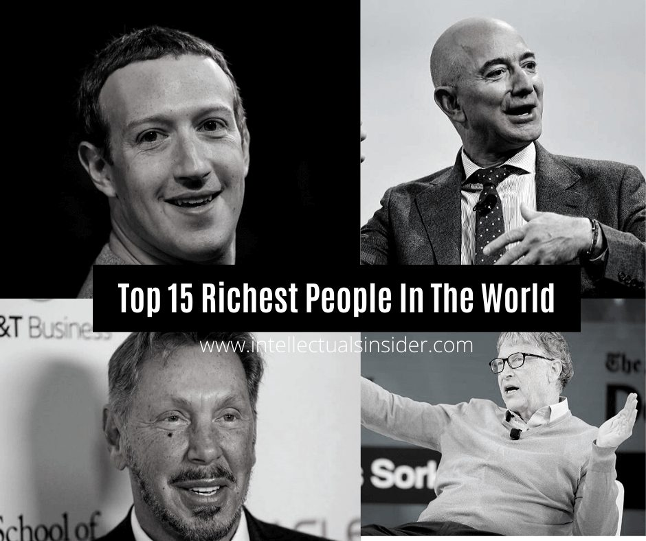 Top 15 Richest People In The World 2020
