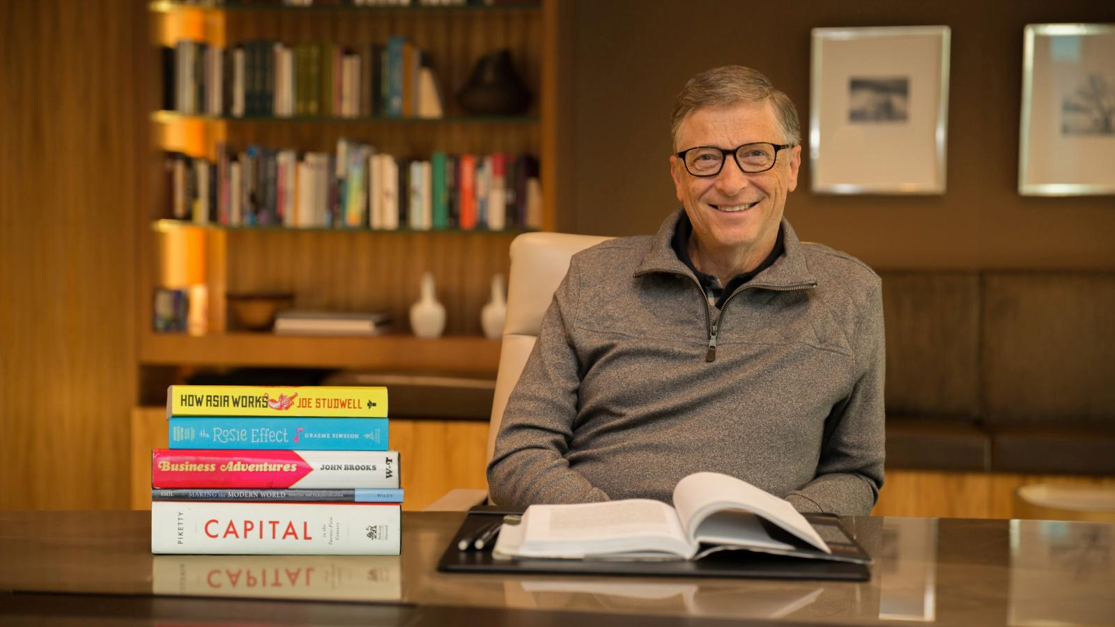 book recommendations bill gates