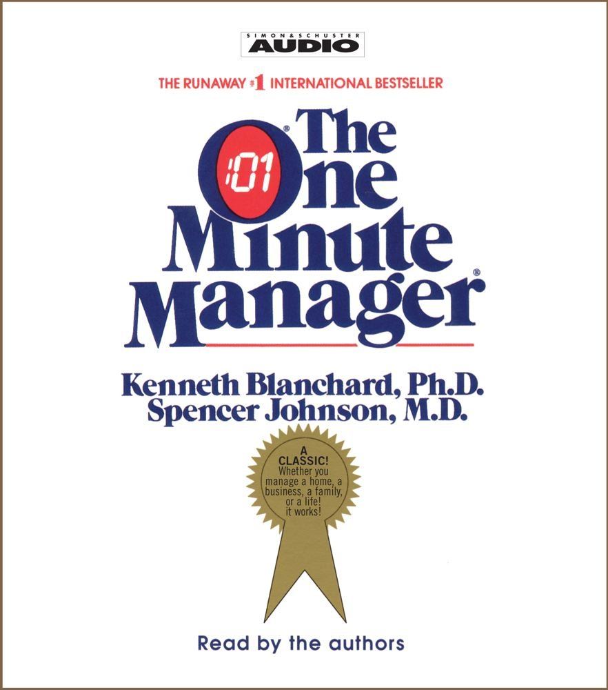 The One Minute Managerby Kenneth Blanchard Business Book That You Should Read from Today